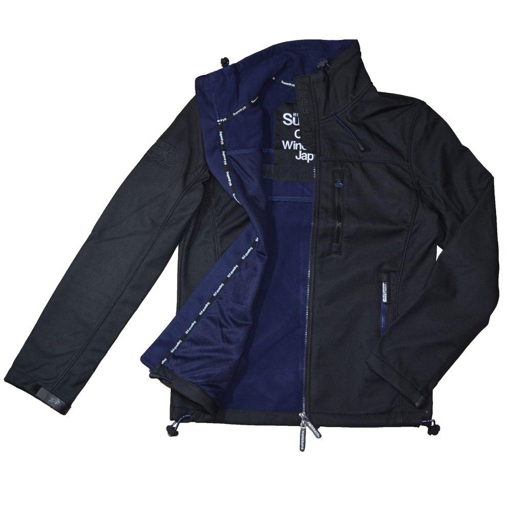 SUPERDRY 極度乾燥 男 外套 黑色 1456
