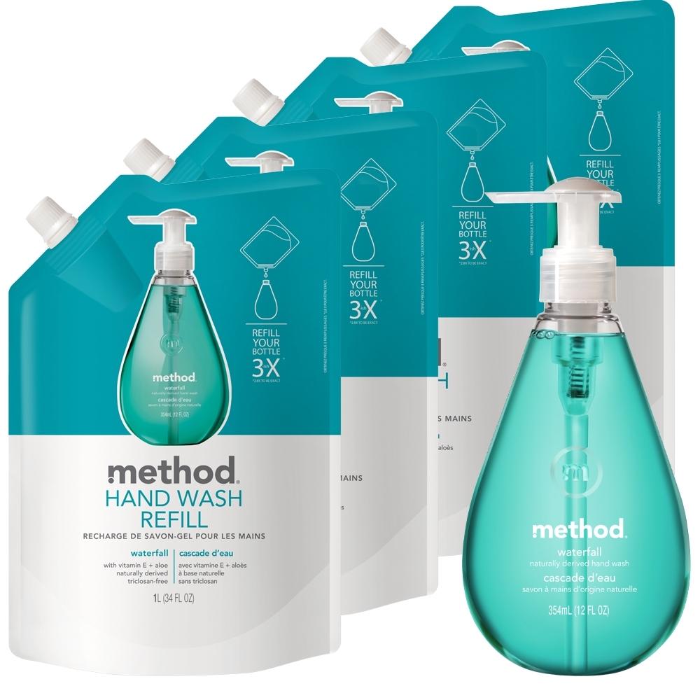 Method 美則清泉洗手乳1+4件(特惠組)