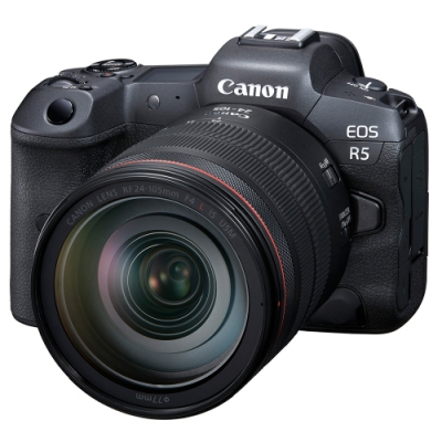 Canon EOS R5 + RF 24-105mm F4L IS USM 變焦鏡組 公司貨