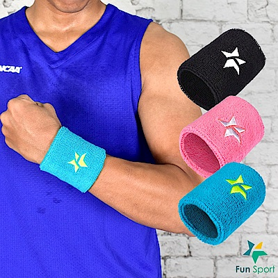 Fun Sport 星星向榮運動護腕-4支超值包