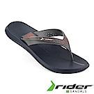 Rider 巴西 男 HYPERCOOL AD 寬版鞋帶夾腳拖鞋 藍灰橘色