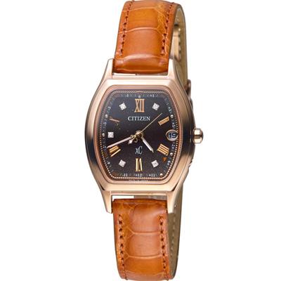 CITIZEN xC 璀璨星紗光動能電波腕錶(ES9352-13E)