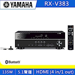 YAMAHA山葉 5.1聲道 AV擴大機 RX-V383