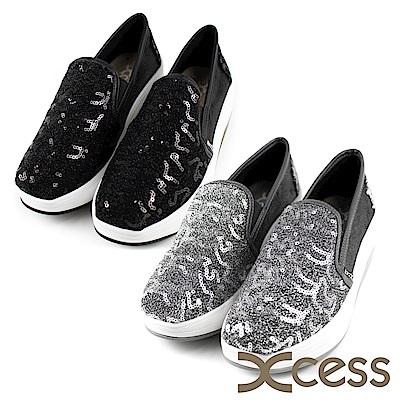 XCESS 女增高鞋 立體亮片 GW047 二色任選