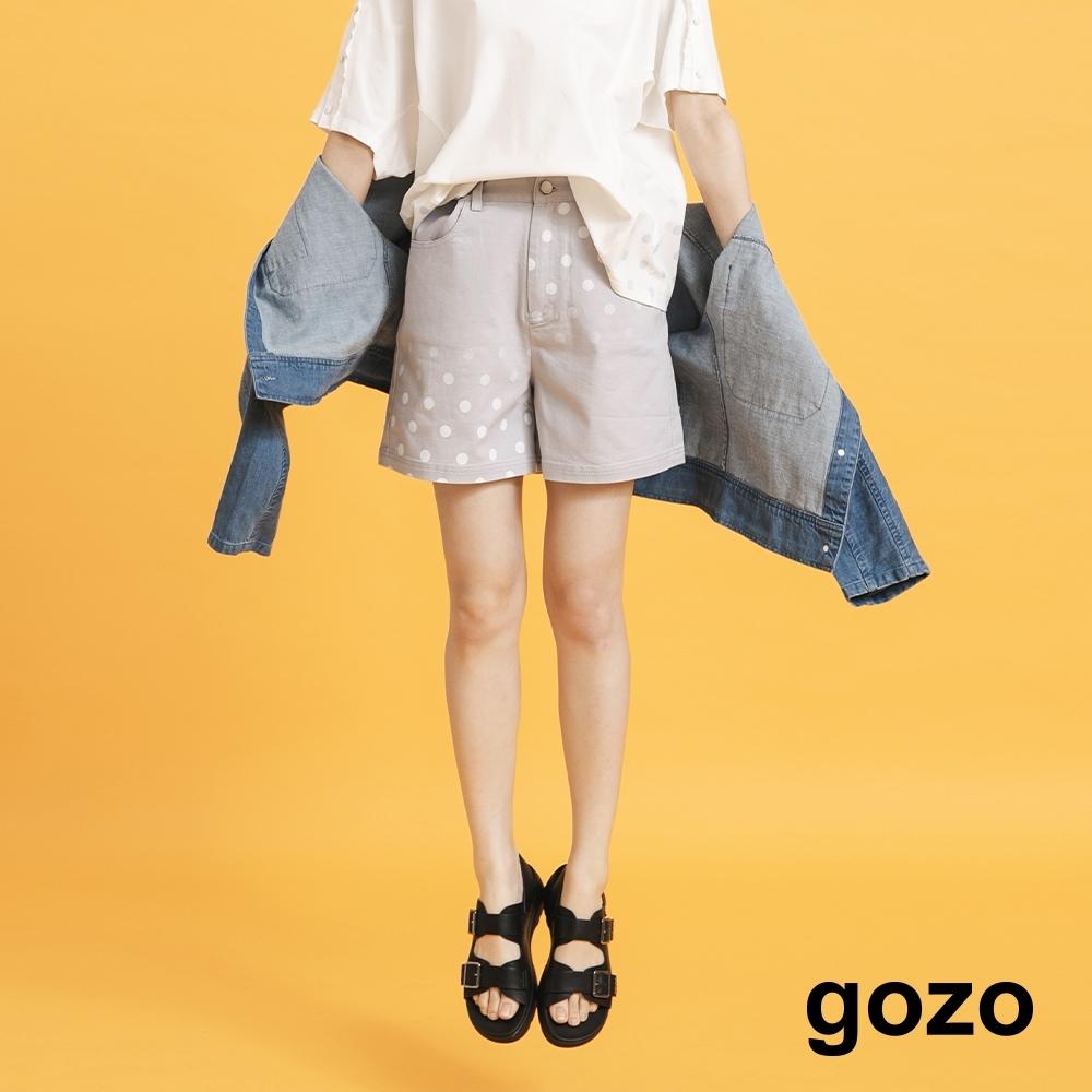 gozo-波卡圓點短褲-(兩色)