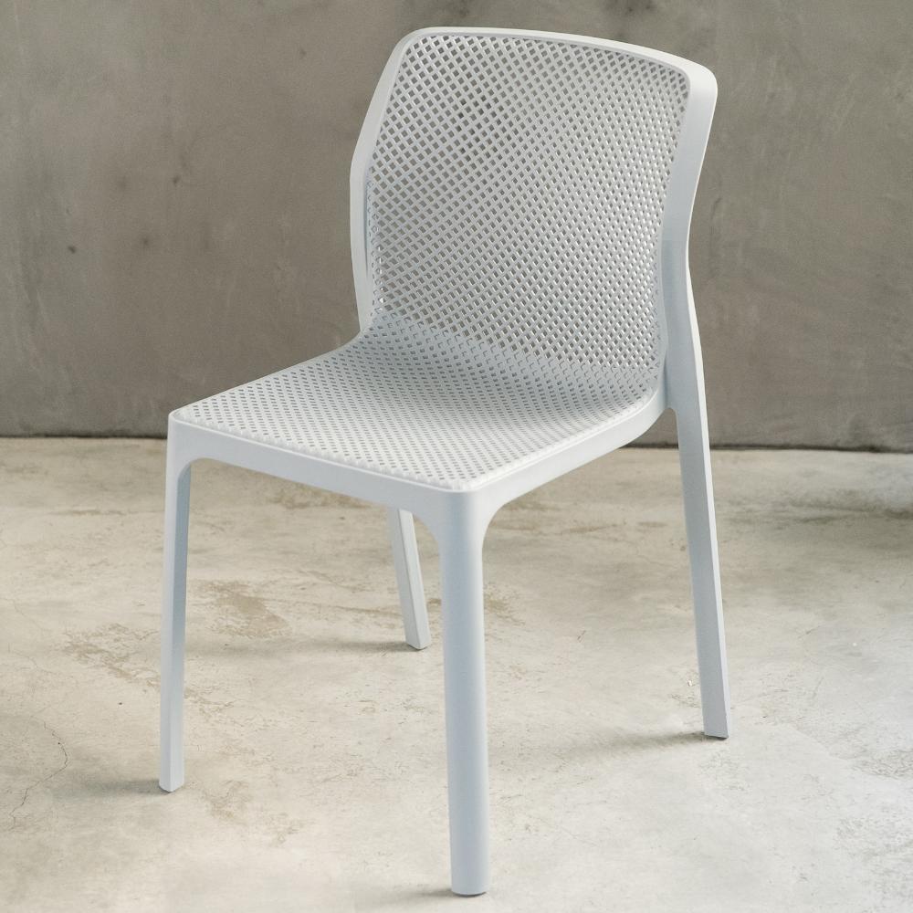 【日居良品】4入組-Alice 繽紛美學舒適戶外休閒椅餐椅(7色任選) @ Y!購物