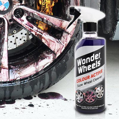 Wonder Wheels 超級鋁圈鐵粉清潔劑