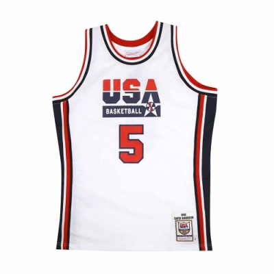 M&N Authentic球員版復古球衣 92 Dream Team #5 David Robinson