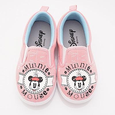 迪士尼童鞋 米奇休閒帆布款 ON 18630 粉(中小童段)