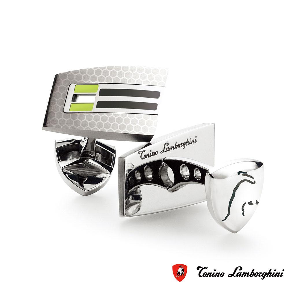 藍寶堅尼Tonino Lamborghini CORSA Green 袖釦