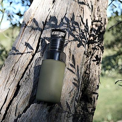 美國HYDY輕靚水瓶Estiva_碳黑-海藻綠 590ml