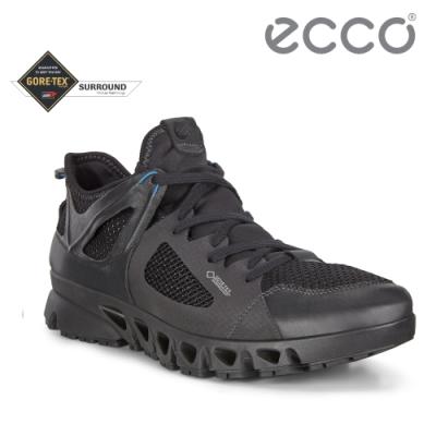 ECCO MULTI-VENT M 全方位城市戶外運動休閒鞋 男-黑