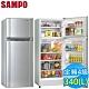 福利品 SAMPO聲寶 340L 4級定頻2門電冰箱 SR-L34G(S2) product thumbnail 1