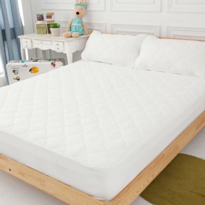 LAMINA 雙人 奈米銀抗菌包式三件式保潔墊+(枕頭X2)