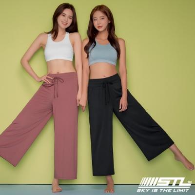 STL yoga ESSENCE Light Quick Dry 韓國瑜珈 運動機能 加長加寬 本質落地寬舒服褲 混黑