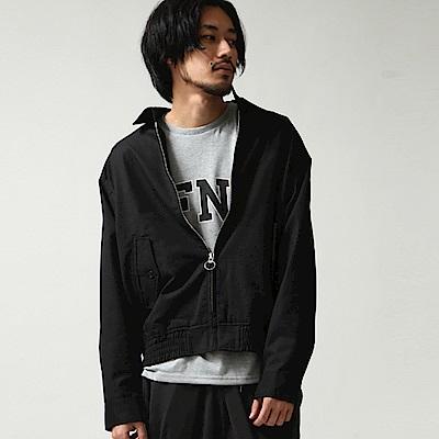 鬆身版布勞森外套4色ZIP日本男裝
