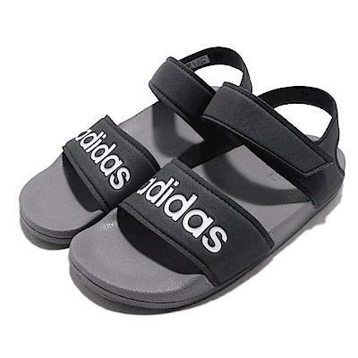 adidas 涼拖鞋 Adilette Sandal 運動 童鞋