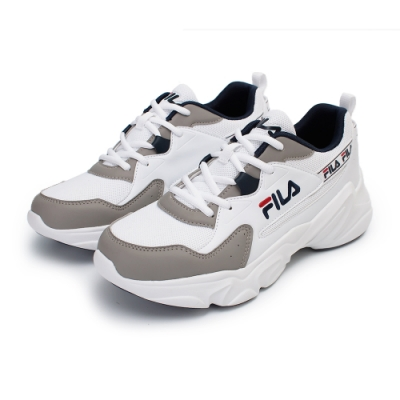 【FILA】HIDDEN TAPE 2 復古慢跑鞋 男鞋-灰/白(1-J329V-143)