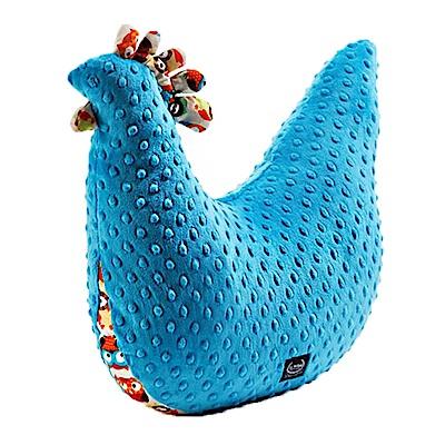 La Millou 豆豆哺乳枕-黛安奶奶的雞(土耳其藍)