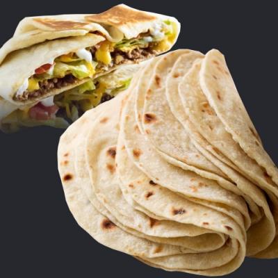 (滿額) 約克街肉舖 墨西哥薄餅12片 (43g±4g/片)