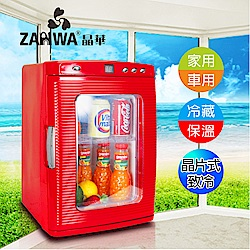 ZANWA晶華 冷熱兩用電子行動冰箱/冷藏箱/保溫箱/孵蛋機 CLT-25L