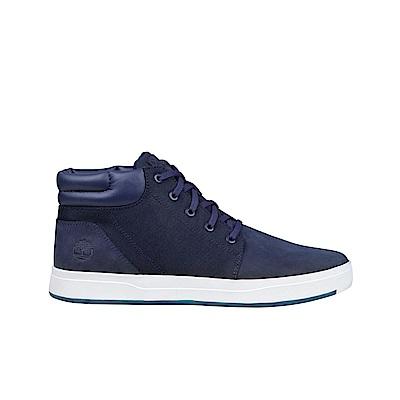 Timberland 男款海軍藍中筒休閒鞋|A1OHR019