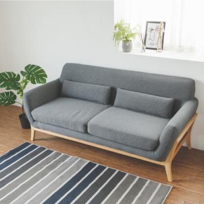 完美主義 簡約美型三人沙發/三人座(3色)-180x80X81