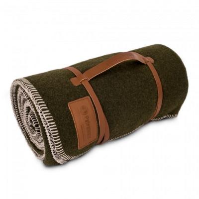 Petromax 100% 純羊毛毯 綠/黑 Wool Blanket 150 x 200 cm 861-DE-471-150