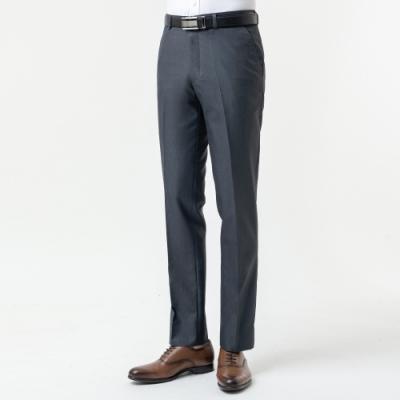 極品西服 簡約仿毛平面西裝褲 深灰(BW876-1)
