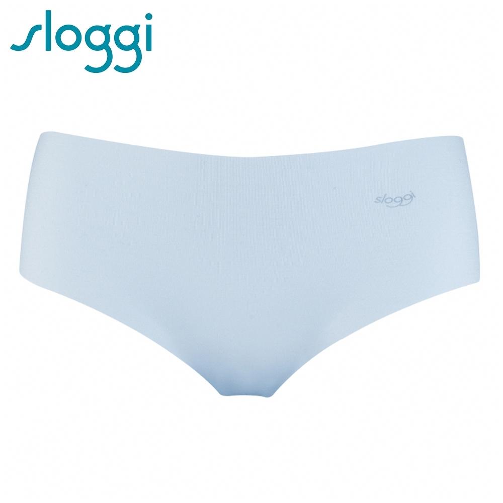 sloggi ZERO Modal 零感波浪型平口無痕褲 純淨白