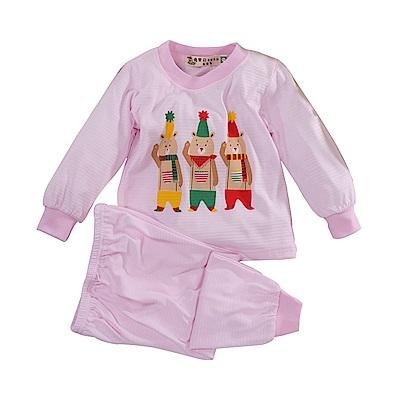 印花薄長袖居家套裝 k51045 魔法Baby