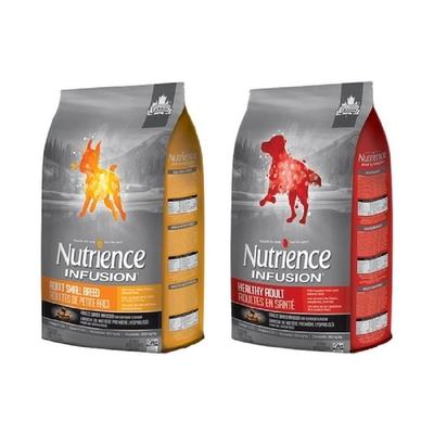 Nutrience紐崔斯INFUSION天然糧系列 犬用 5kg(11lbs)  送全家禮卷50元*1張(購買第二件贈送寵鮮食零食*1包)