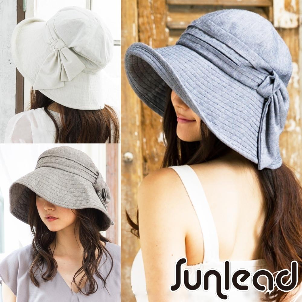 Sunlead 日系防曬寬緣護頸可折邊抗UV遮陽帽