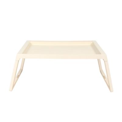樂嫚妮 懶人桌/電腦桌/床上/多功能/折疊-米-68X35X27.5cm