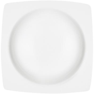 《EXCELSA》白瓷圓底濃湯碗(方21.5cm)