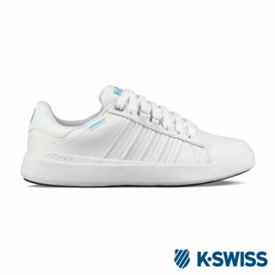 K-SWISS Pershing Court 超輕量防水鞋-女-白