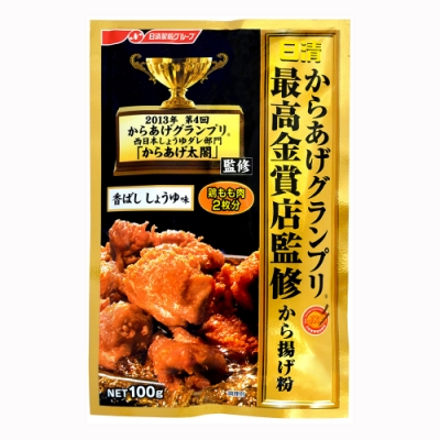 日清  金賞炸雞粉-醬油(100g)