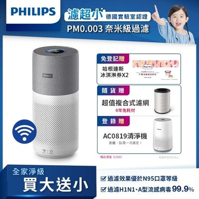 [送5%超贈點] [AR賣場] 飛利浦PHILIPS 奈米級空氣清淨機 AC3033/83 抗病毒首選
