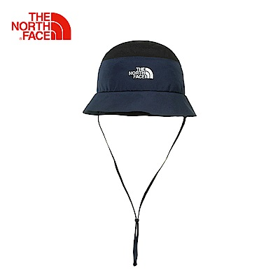 The North Face北面藍黑防水透氣戶外徒步運動帽|CF9LSXK