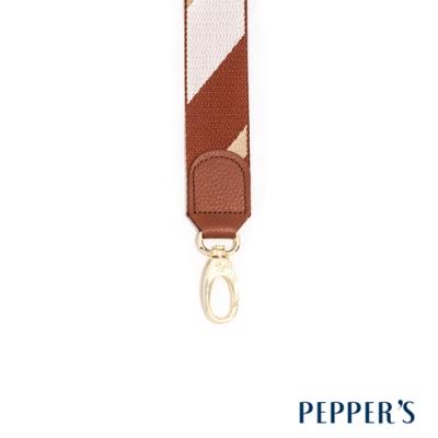 PEPPER S Hope 編織背帶 - 棕色