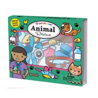Let s Pretend:Animal Rescue 搶救動物硬頁掀翻操作書(英國版)