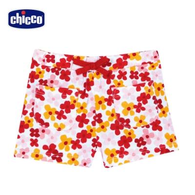 Chicco- TO BE BG-繽紛花朵彈性短褲