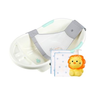 嬰兒防滑沐浴四件組