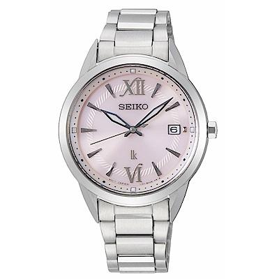 SEIKO LUKIA優雅時尚太陽能腕錶V147-0CL0P/SUT389J1