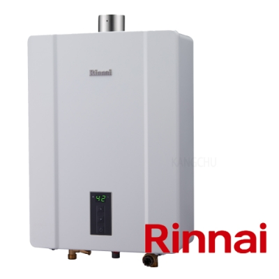 (下單登記送1500)林內牌 RUA-C1600WF 數位恆溫16L強制排氣熱水器