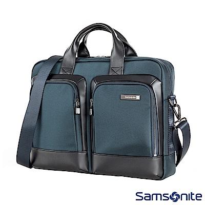 Samsonite新秀麗 Sefton商務筆電公事包S 14 (海軍藍)