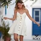 【ROXY】UNDER THE CALI SUN 絲質洋裝 白