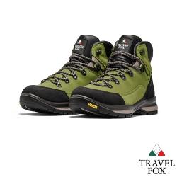 TRAVEL FOX(男) 山歌登山越野防水禦寒防震專業戶外登山鞋 - 綠