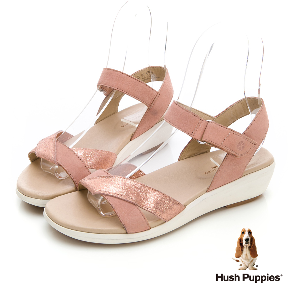 Hush Puppies LYRICALE 機能健走涼鞋-粉紅