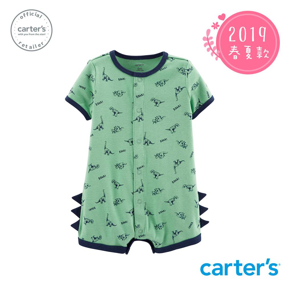 Carter's台灣總代理 恐龍造型連身裝